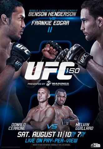 ufc-150-poster