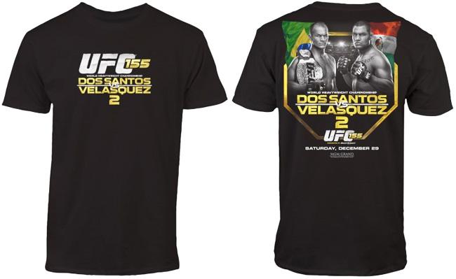 ufc-155-event-t-shirt