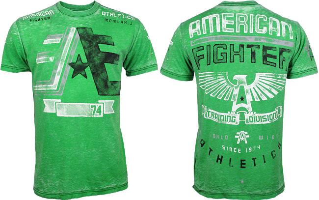 american-fighter-cornerpaint-shirt-green
