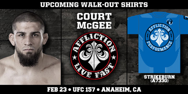affliction-court-mcgee-ufc-157-shirt