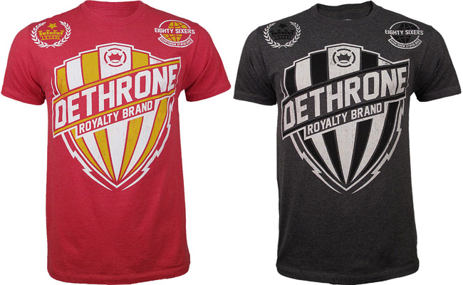 dethrone-bolt-shield-shirt