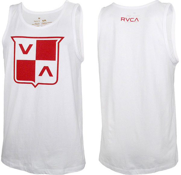 rvca-va-shield-tank-top