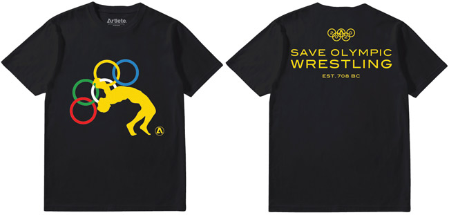 artlete-save-olympic-wrestling-shirt