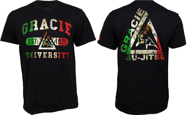 gracie-jiu-jitsu-mexico-shirt