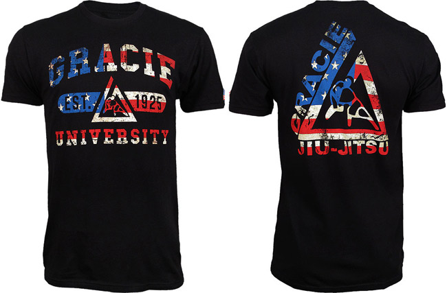 gracie-jiu-jitsu-usa-shirt