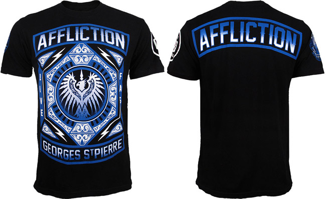 gsp-affliction-ufc-158-shirt-black