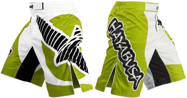 hayabusa-chikara-fight-shorts-green