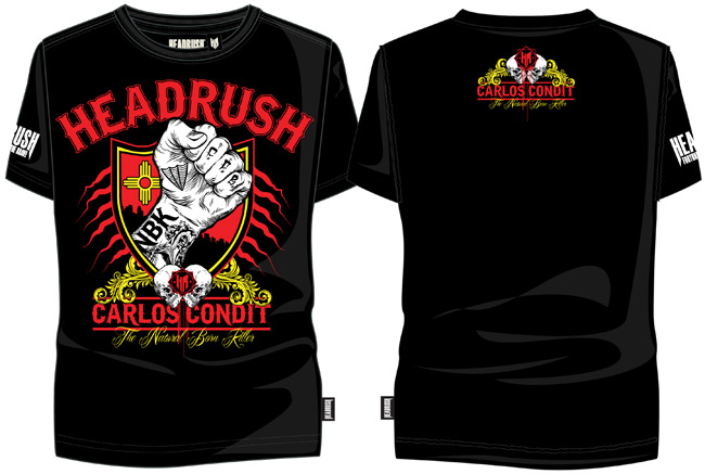 headrush-carlos-condit-ufc-158-shirt