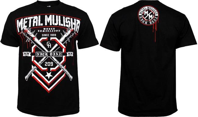 metal-mulisha-nick-diaz-ufc-158-shirt