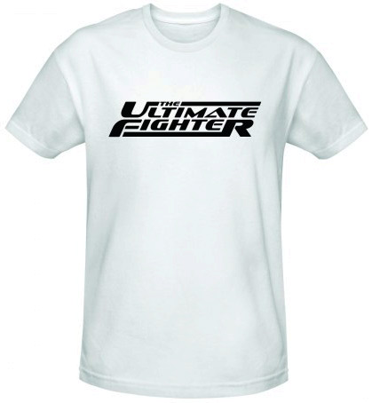 the ultimate fighter logo t shirts