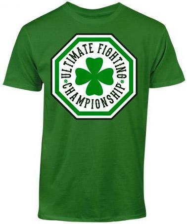 ufc-st-patricks-day-octagon-shirt