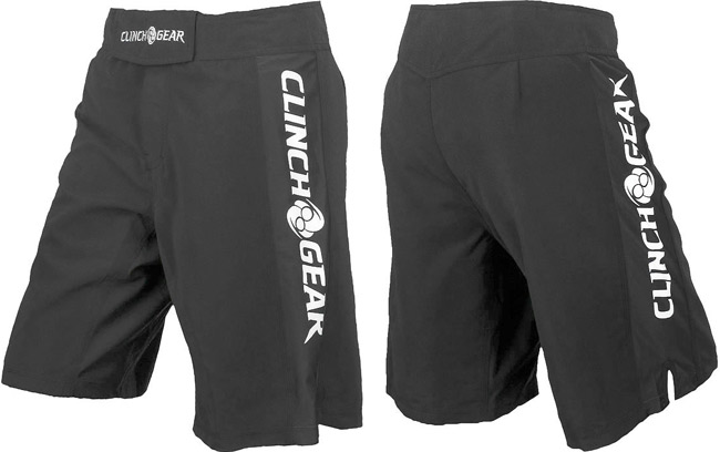 clinch-gear-pro-series-shorts-grey