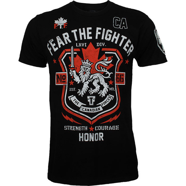 fear-the-fighter-canadian-forces-shirt