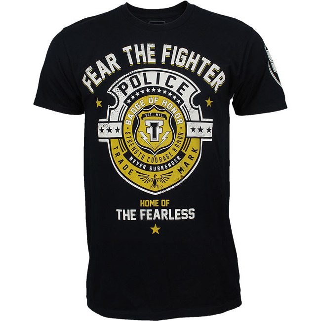 fear-the-fighter-police-shirt