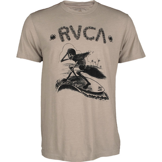 rvca-alohoa-skeleton-shirt