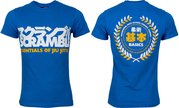 scramble-essential-of-jiu-jitsu-shirt-blue