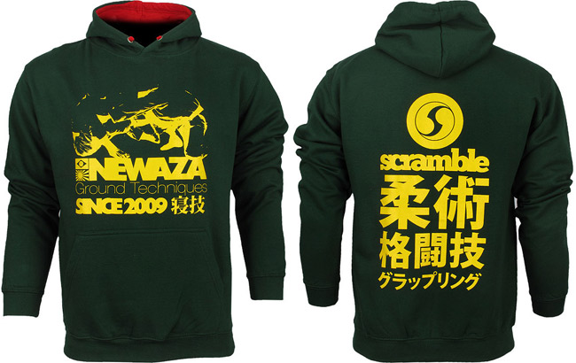 scramble-newaza-hoodie-green