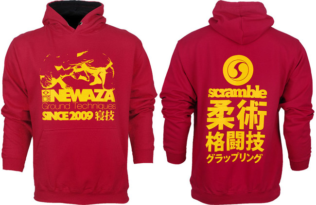 scramble-newaza-hoodie-red