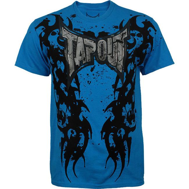 tapout-no-surrender-shirt-blue