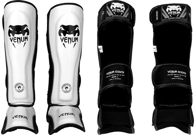 venum-competitor-shinguards-white
