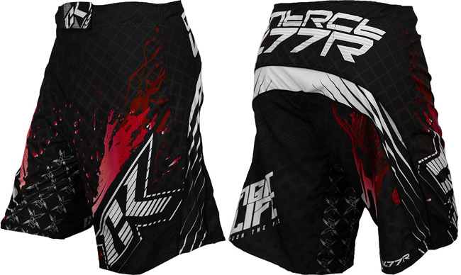 contract-killer-stained-2-shorts-black-red