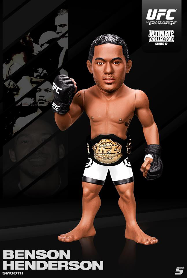 CHAN-SUNG JUNG ULTIMATE COLLECTORS SERIES 12 LIMITED EDITION ROUND 5 UFC  FIGURE