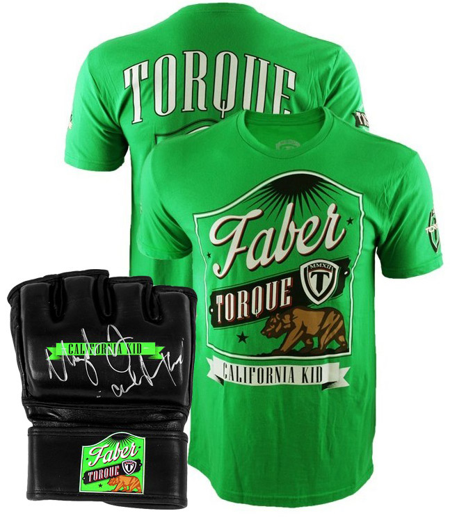 urijah-faber-shirt-and-autographed-glove