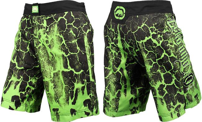 ecko-unltd-mirror-fight-shorts-green