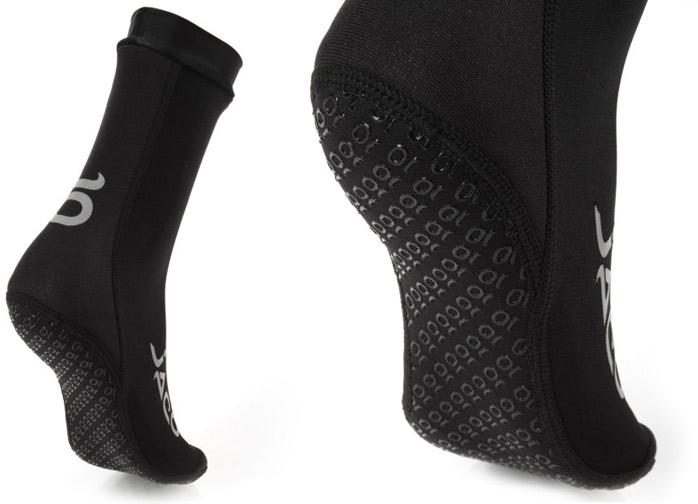 jaco-hybrid-training-sock-black