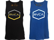 rvca-split-chevron-tank-top