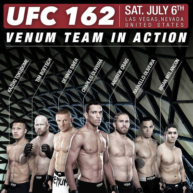 Venum UFC 162 Fight Team – Fig...