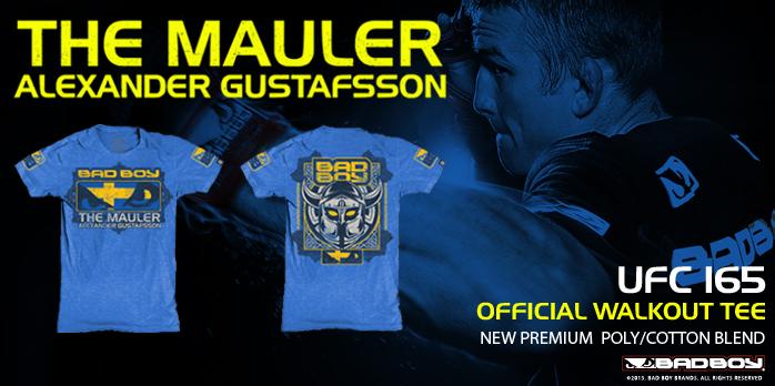 alex gustafsson bad boy ufc 165 shirt