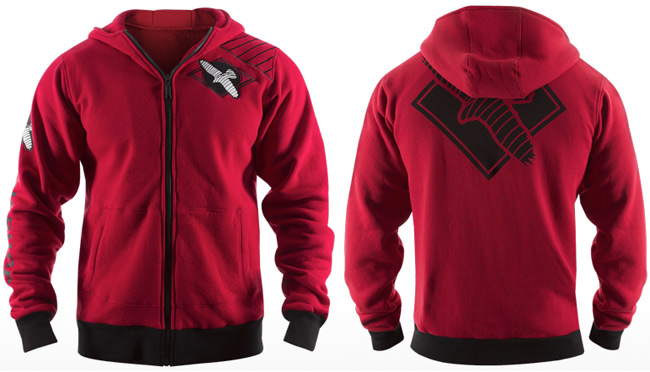 hayabusa-cast-hoodie-red