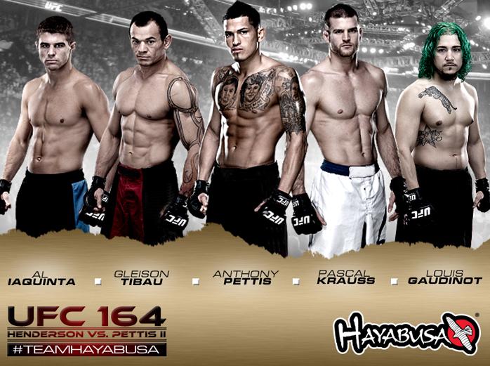 hayabusa-ufc-164-fight-team