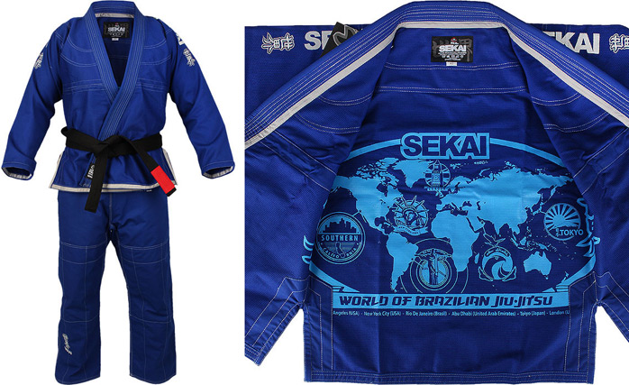 Fuji Sports Sekai BJJ Gi | FighterXFashion com