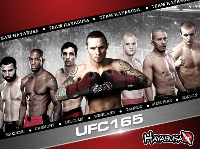 hayabusa-ufc-165-team