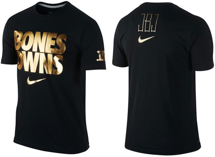 nike jon jones bones owns t shirt