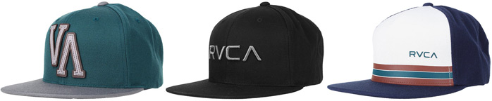 rvca-snapback-hats