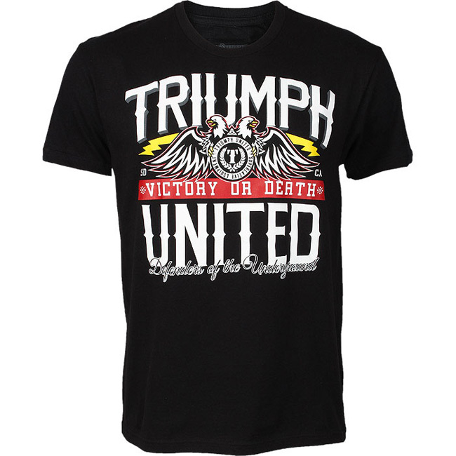 triumph-united-victory-or-death-shirt-black