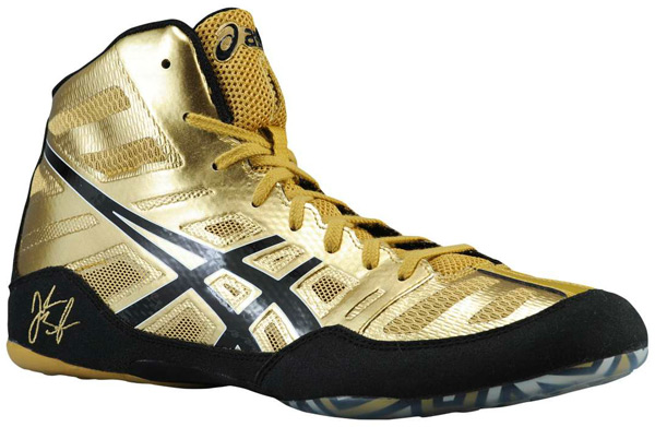 custom asics wrestling shoes
