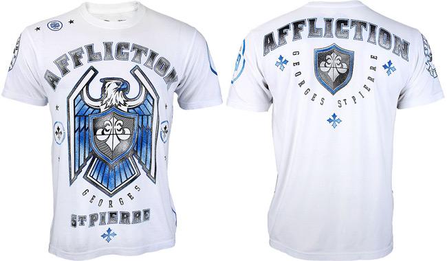 georges-st-pierre-affliction-ufc-167-shirt-white