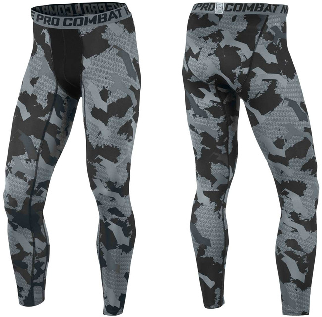 fantastic savings new products shop Nike Pro Combat Core Compression Camo Tights ...