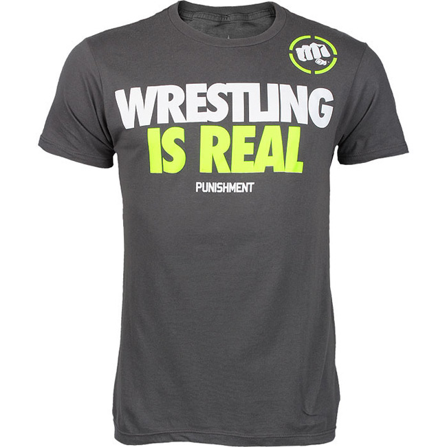 punishment-athletics-wrestling-is-real-shirt