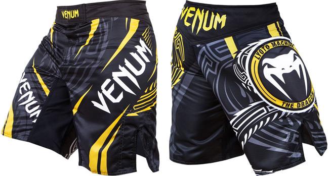 Shiv Naresh Teens Boxing Gloves 12oz: Venum Lyoto Machida Ryujin Signature Shorts