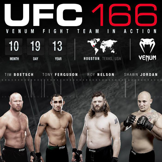 venum-ufc-166-fight-team