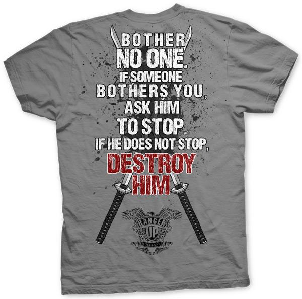 ranger-up-samurai-bother-no-one-shirt-2