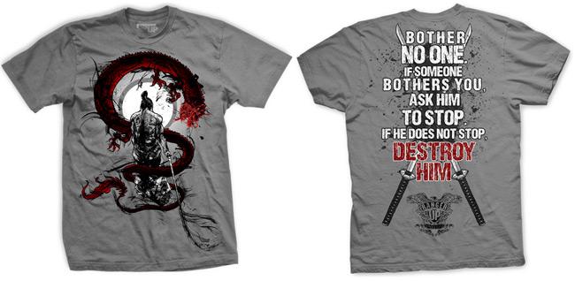 ranger-up-samurai-bother-no-one-shirt