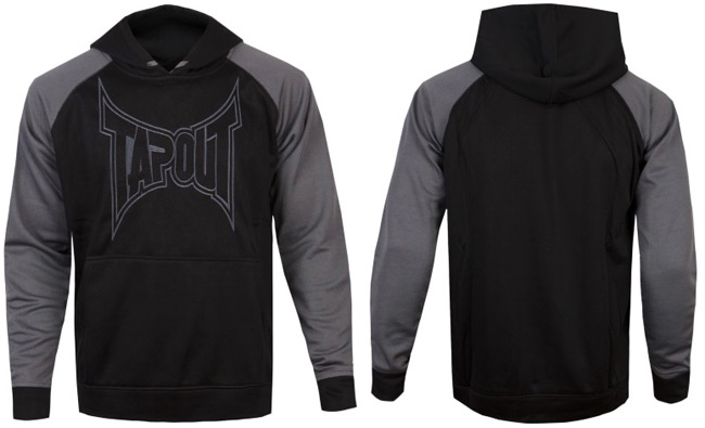 tapout-logo-hoodie-grey