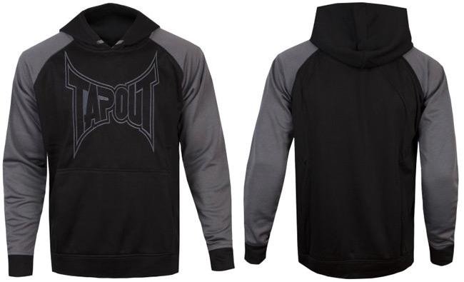 tapout-logo-hoodie-grey