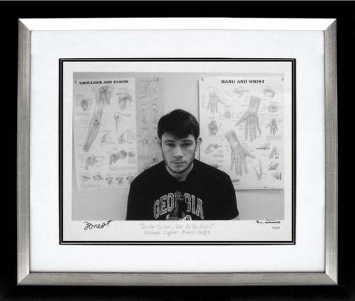 ufc autographed art forrest griffin
